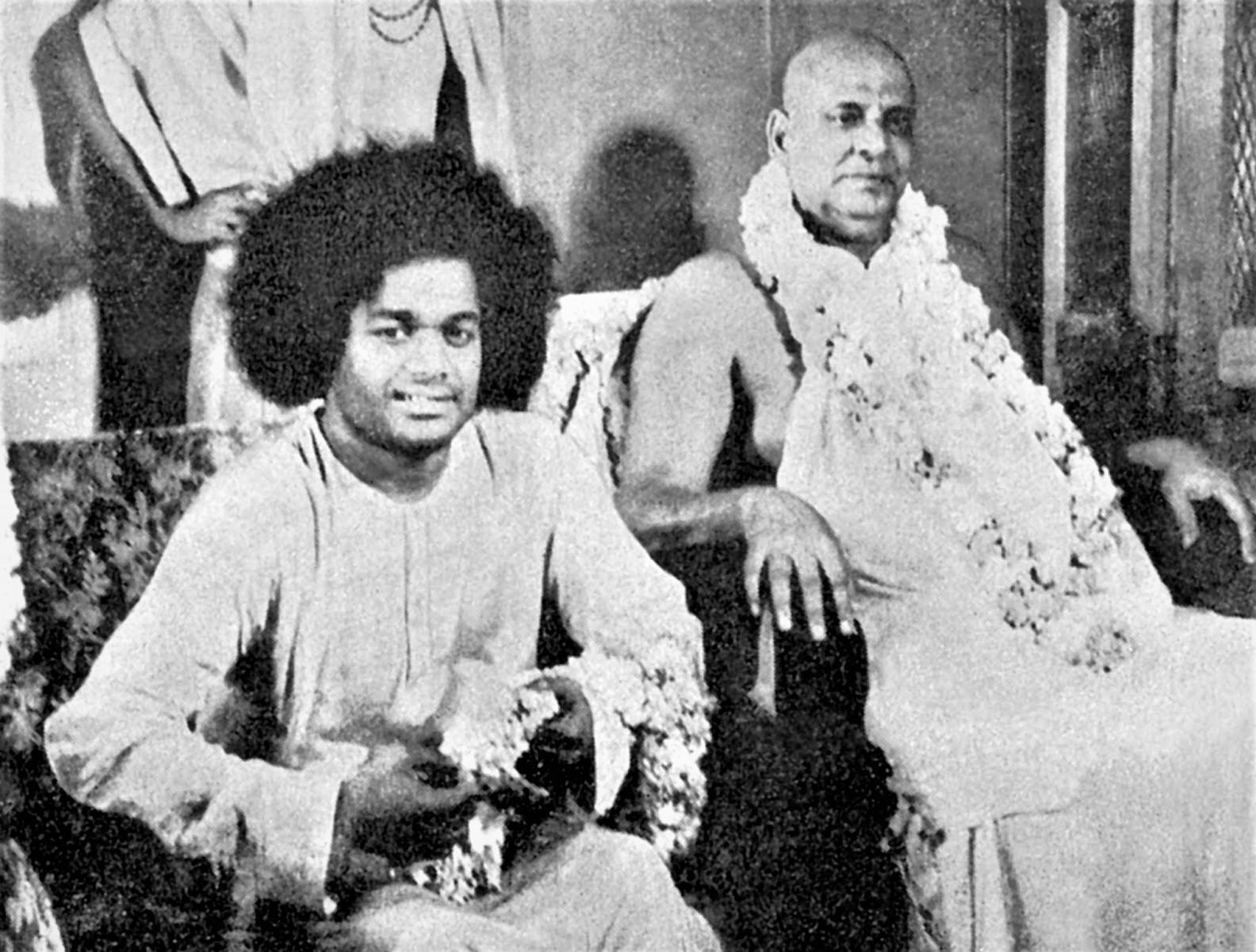 Шивананда Свами и Саи Баба
