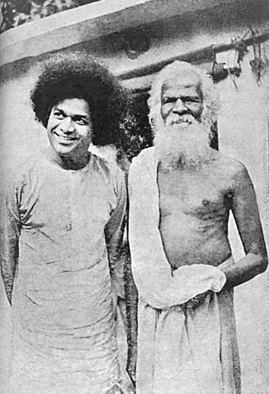 Саи Баба и Пурушотамананда